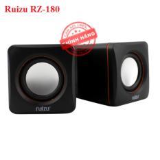 Hình ảnh Loa vi tính xí ngầu Ruizu RZ180 - Loa 2.0 (Đen) - Hãng phân phối chính thức
