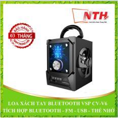 Mua Loa Xach Tay Vsp Cv V6 Led Bluetooth Fm Thẻ Nhớ Usb Rẻ