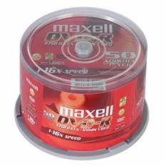 Hình ảnh Lốc 50 đĩa DVD Maxell - Hàng nhập khẩu cao cấp không kén máy + Tặng 01 tai nghe Q50
