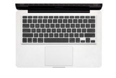 Hình ảnh Lót bàn phím silicon nhiều màu cho MacBook 13 (Trong suốt)