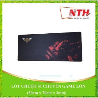 Lót chuột S1 lớn (30cm x 70cm x 3mm) thumbnail