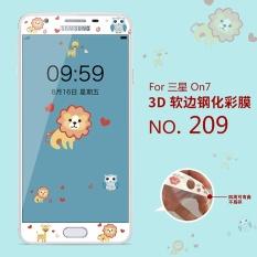 Giá Bán Đang Yeu 3D Tranh Trước Full Mau Vỏ Kinh Cường Lực Bảo Vệ Cho Samsung Galaxy On7 Trực Tuyến