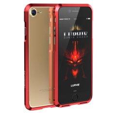 Giá Bán Luphie Ca Tinh Chống Sốc Nhom Ốp Điện Cho Iphone 7 Mau Đỏ Quốc Tế Trung Quốc