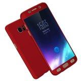 Mua Sang Trọng Toan Than 360 Độ Bảo Vệ Bao Ốp Lưng Danh Cho Samsung Galaxy Samsung Galaxy S7 G930F 5 1 Inch Tặng Kem Kinh Cường Lực Điện Thoại Capa Coque Trường Hợp Lưng Đỏ Quốc Tế Mới Nhất