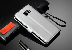 Ôn Tập Trên Thời Trang Cao Cấp Da Pu Cấp Kiểu Bao Da Danh Cho Samsung Galaxy Note 5 5 7 Inch Tui Điện Thoại Di Động Vi Trắng Quốc Tế