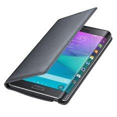 Giá Bán Bao Da Điện Thoại Samsung Galaxy Note Edge N9150 Đen Quốc Tế Bessky