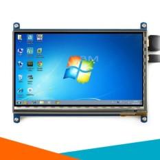 Màn Hình Raspberry 7Inch HD 1024x600 Cảm Ứng Điện Dung (Tặng Đĩa, Cáp HDMI, Cáp USB )