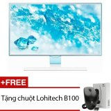 Mua Man Hinh Vi Tinh Led Samsung 23 6Inch Full Hd Model Ls24E360Hl Xv Trắng Tặng 1 Chuột Lohitech B100 Samsung