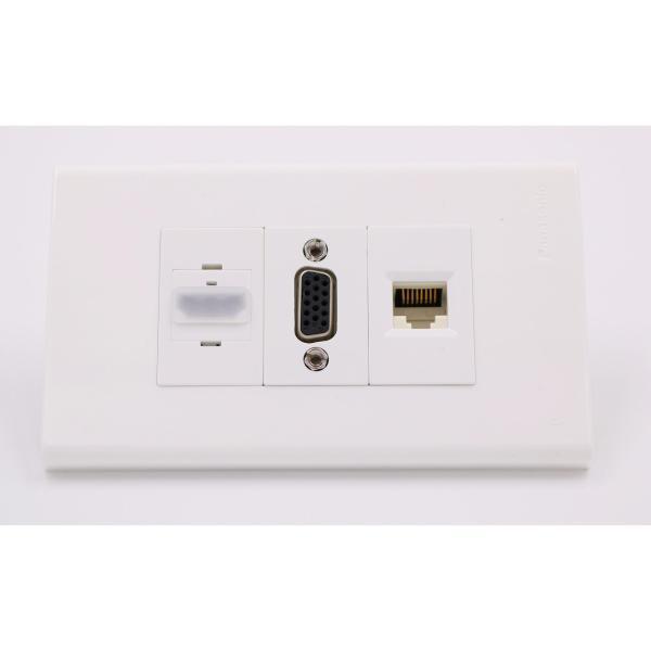 Bảng giá Mặt Âm Tường HDMI, VGA và RJ45 Panasonic