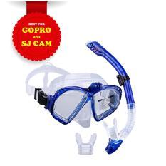 Bán Mua Bộ Mặt Nạ Lặn Ống Thở Gopro Mắt Kinh Cường Lực Gắn Được Gopro Sjcam Camera Hanh Trinh Popo Sports Mới Hà Nội