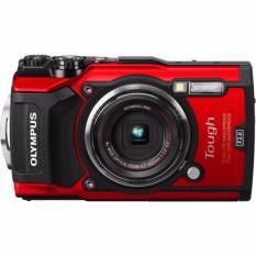 Hình ảnh Máy ảnh du lịch chống nước Olympus TG-5 (Red)
