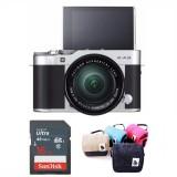 Bán May Ảnh Fujifilm X A3 Kit Xc 16 50Mm F3 5 5 6 Ois Ii Bạc Hang Phan Phối Chinh Thức Kem Tui Chinh Hang Mau Ngẫu Nhien Thẻ Nhớ Sandisk 16Gb Có Thương Hiệu Rẻ