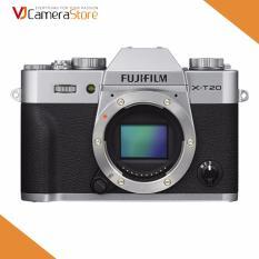 May Ảnh Fujifilm X T20 24 3Mp Body Bạc Hang Nhập Khẩu Fujifilm Chiết Khấu 40