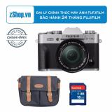Mua May Ảnh Fujifilm X T20 24 3Mp Với Lens Kit 16 50Mm Bạc Chinh Hang Tặng Tui Fujifilm Cao Cấp Thẻ Nhớ 8Gb Fujifilm Nguyên
