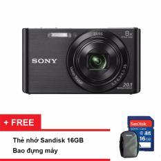 Giá Bán Máy Ảnh Kts Sony Cyber Shot Dsc W830 20 1Mp Va Zoom Quang 8X Đen Tặng Thẻ Nhớ Sd 16Gb Bao Đựng May Hồ Chí Minh