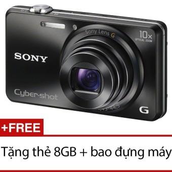 Giá Bán May Ảnh Kts Sony Cyber Shot Dsc Wx220 18 2Mp Va Zoom Quang 10X Đen Tặng Thẻ 8Gb Bao Đựng May Sony Tốt Nhất