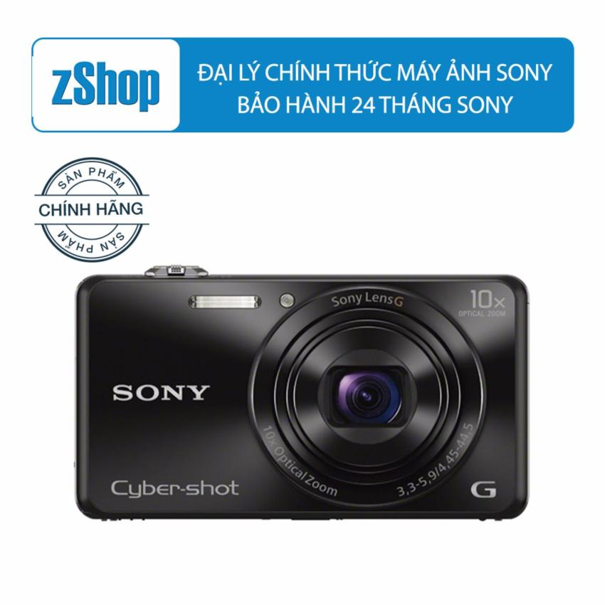 Giá Bán May Ảnh Kts Sony Cyber Shot Dsc Wx220 Zoom Quang 10X Đen Mới