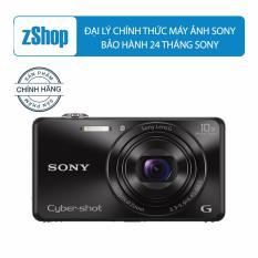 May Ảnh Kts Sony Cyber Shot Dsc Wx220 Zoom Quang 10X Đen Mới Nhất