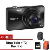Bán Mua Trực Tuyến May Ảnh Kỹ Thuật Số Sony Wx220 Đen Tặng Thẻ Nhớ Tui Balo Du Lịch Sony Hang Phan Phối Chinh Hang
