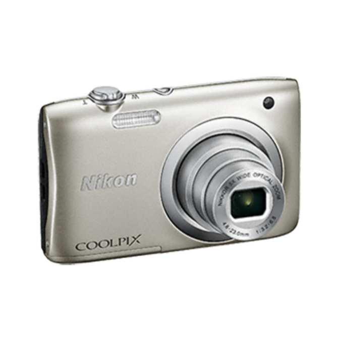Hình ảnh Máy ảnh NIKON COOLPIX A100 20MP Digital Camera with 5x Zoom SilverJapan