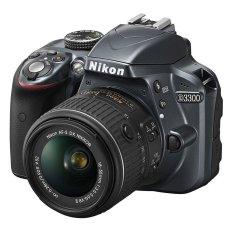 Chiết Khấu May Ảnh Nikon D3300 24Mp Với Lens Kit Af S Dx Nikkor 18 55M F3 5 5 6G Vr Ii Đen Nikon Trong Việt Nam