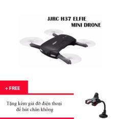 Hình ảnh Máy bay điều khiển Drone Flycam FPV 2.4G JJRC H37 xếp gọn bỏ túi truyền trực tiếp về smartphone + Tặng kèm giá đỡ điện thoại đế hút chân không trị giá 50 ngàn đồng - Kmart