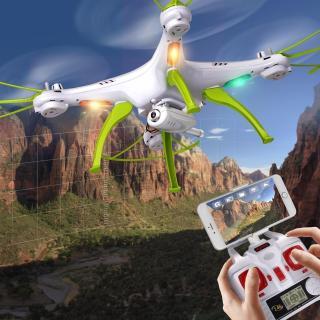 Máy bay mô hình Syma X5HW-1 truyền hình trực tiếp qua smartphone thumbnail