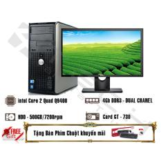 May Bộ Chuyen Game 4Techgd780Mt Q9400 2 66Ghz 6Mb Cache 4 Loi Thực Ram 4Gb Hdd 500Gb Card Gt 730 2Gb Ddr5 Man 22 Inch Rẻ