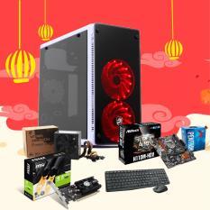 Hình ảnh Máy bộ Olatek Gaming G4400/8GB/HDD 1TB/VGA GTX 1030 / Nguồn 450W / Case Hera W150 / 2*Fan LED 12CM