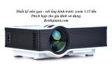 Giá Bán May Chiếu Mini Cho Gia Đinh Uc40 Tich Hợp Loa Ngoai Tốt Nhất
