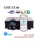 Smart1688 Máy chiếu gia đình UC46 có WIFI - ĐEN