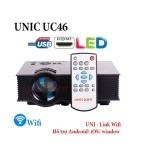 Projector gia đình UC46 có WIFI - ĐEN