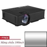 Projector KẾT NỐI KHÔNG DÂY UNIC UC46 WIFI + TẶNG MÀN CHIẾU 100INCH.