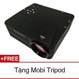Giá Bán May Chiếu Mini Led Peepvn H80 Đen Tặng 1 Mobi Tripod Oem Mới
