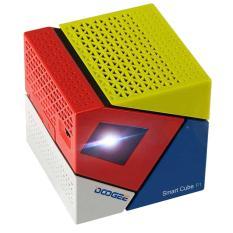 Hình ảnh Máy chiếu Mini projector Android TV Smart Box Smart Cube P1 Quad core 4 nhân bluetooth (Xanh đỏ trắng)