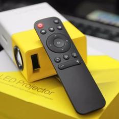 Hình ảnh Máy chiếu mini thiết kế nhỏ gọn YG-300 Full HD (vàng trắng)