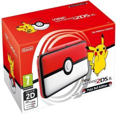 Hình ảnh Máy Chơi Game Nintendo New 2DS XL Pokeball Edition và Thẻ Nhớ 32G (Hacked)