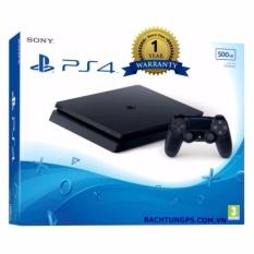 Bán Mua Trực Tuyến May Chơi Game Sony Playstation 4 Slim 500Gb Chinh Hang