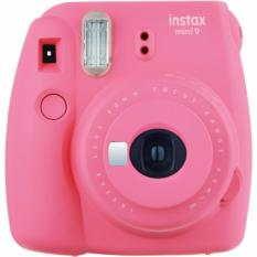 Bán May Chụp Ảnh Lấy Liền Fujifilm Instax Mini 9 Mau Hồng Tặng Kem 20 Tấm Giấy In Fujifilm Mới