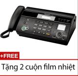 Mua May Fax Panasonic Kx Ft983 Đen Tặng 2 Cuộn Film Nhiệt Panasonic Nguyên