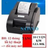May In Hoa Đơn Xprinter Xp 58Iih Khổ Giấy K58 Hang Nhập Khẩu Đen Hồ Chí Minh