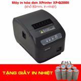 Mã Khuyến Mại May In Hoa Đơn Xprinter Xp Q200Ii Khổ 80Mm In Nhiệt Tặng 3 Cuộn Giấy In Rẻ