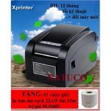 Giá Bán May In Tem Ma Vạch Xprinter Xp 350B Đen Tốt Nhất
