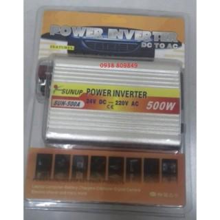 Máy kích điện cầu chì ngoài 24V 500W thumbnail