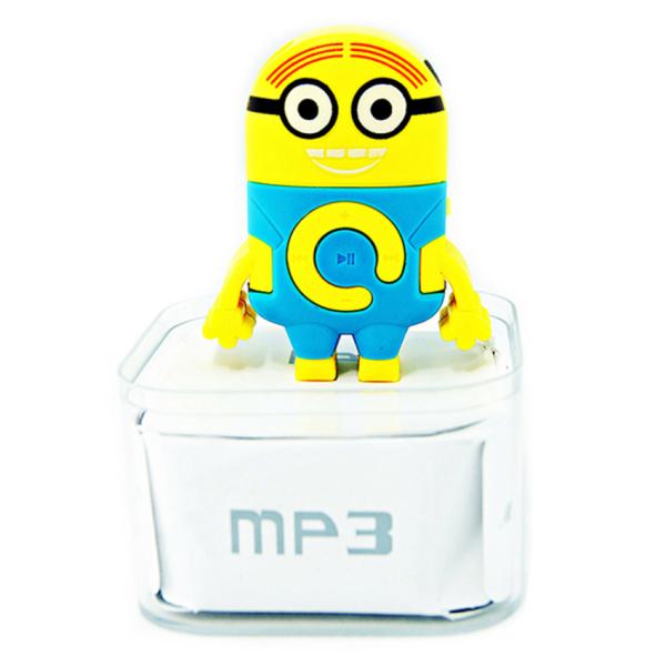 Máy nghe nhạc hình Minion Protab MP3 (Vàng phối xanh)