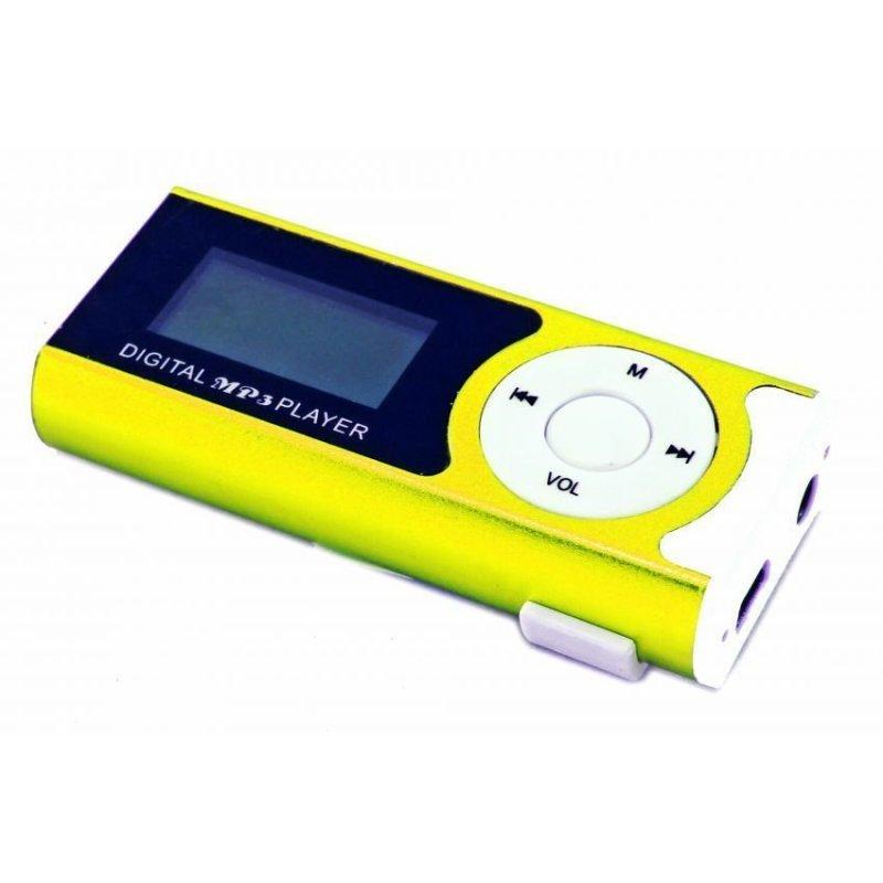 Máy nghe nhạc MP3 có màn hình LCD S13 (Vàng)