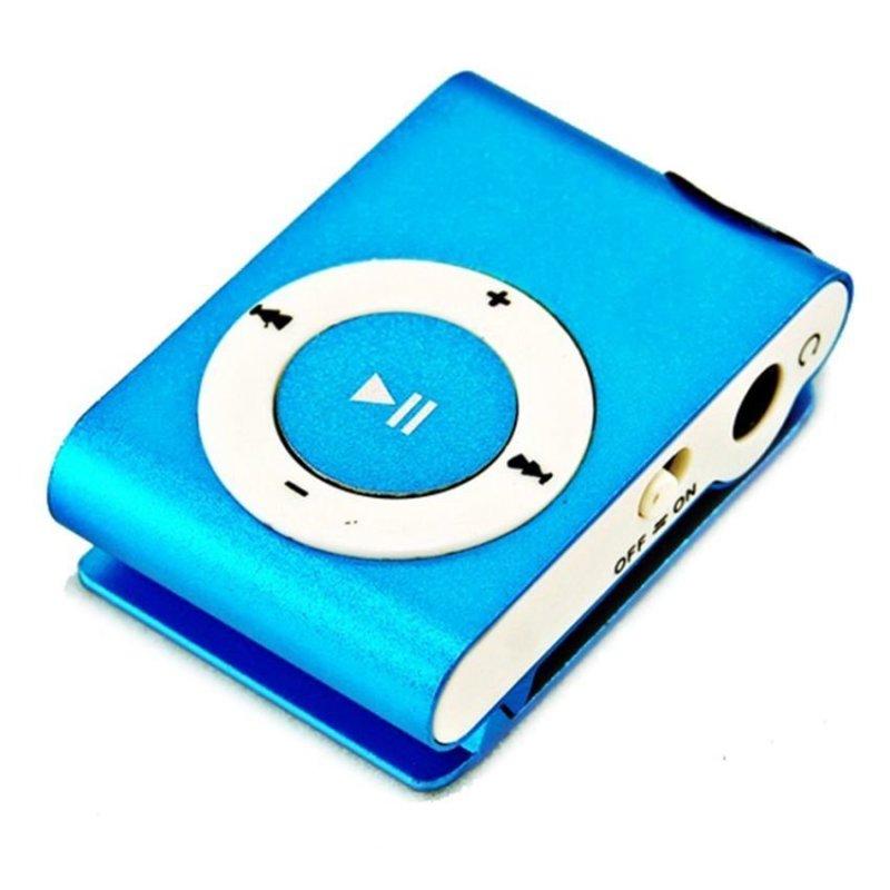Máy nghe nhạc MP3 kèm tai nghe s12 (Xanh)