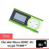 May Nghe Nhạc Mp3 Lcd Mau Xanh La Tặng Thẻ Nhớ Micro Sdhc 4G Xanh La Neon Mới Nhất