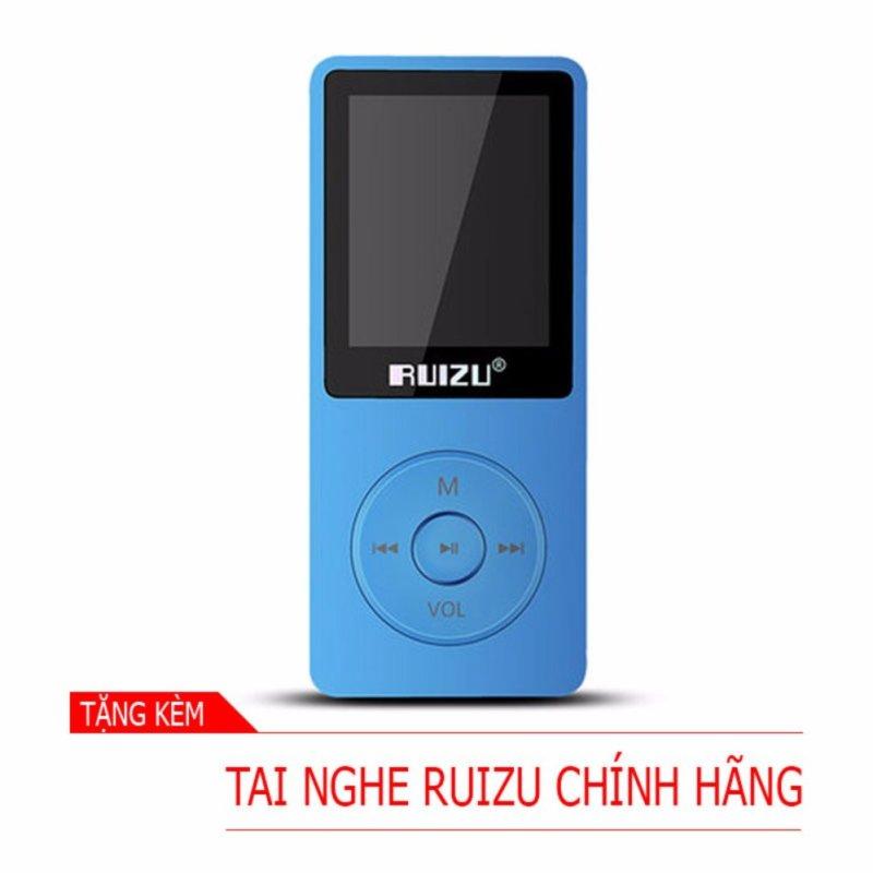 Máy nghe nhạc mp3 RUIZU X02 (8Gb - Xanh) [Hãng phân phối chính thức]