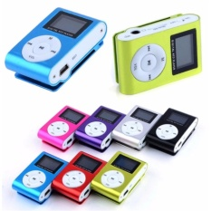 Hình ảnh Máy nghe nhạc MP3 vỏ nhôm,có màn hình LCD kiểu kẹp(màu tùy ý) + cáp sạc truyền dữ liệu dùng như đầu đọc thẻ nhớ
